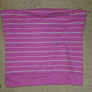 Aeropostle pink striped tube top (3 for $25)